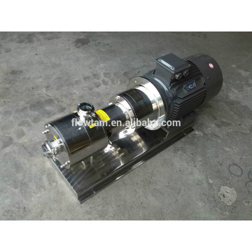 2800rpm all stainless steel high shear pump with CE certificate